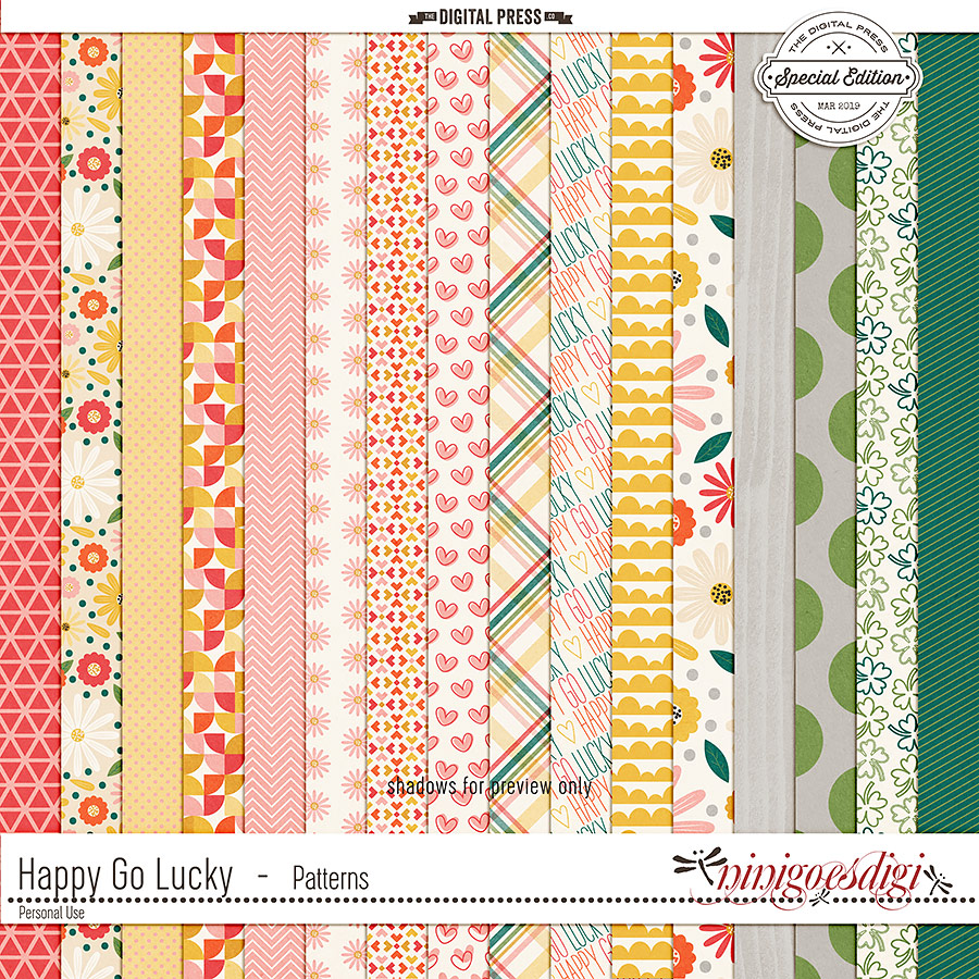 Happy Go Lucky | Patterns