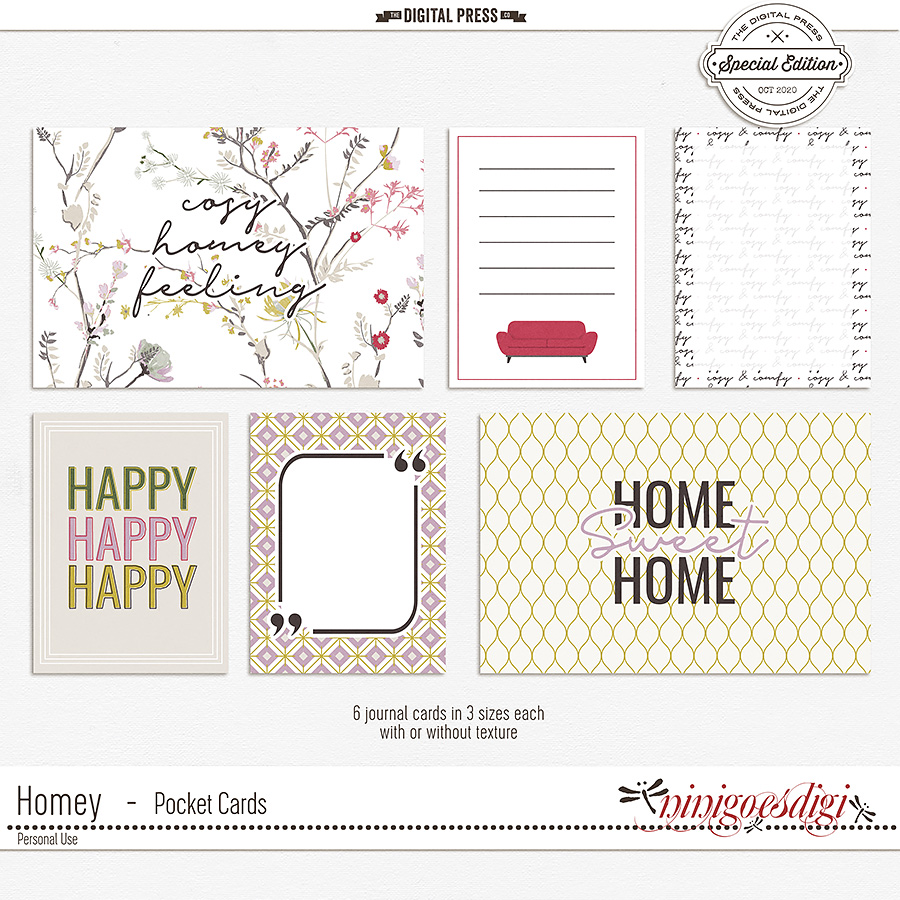 Homey | Pocket Cards