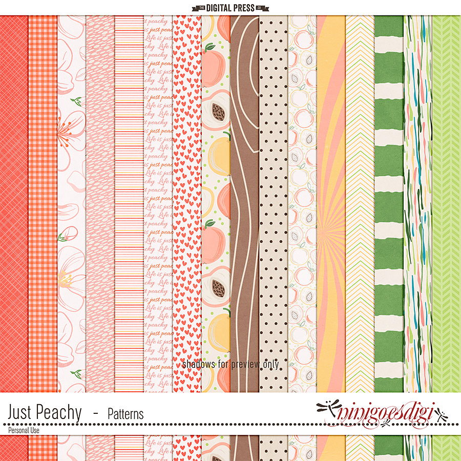 Just Peachy   Patterns