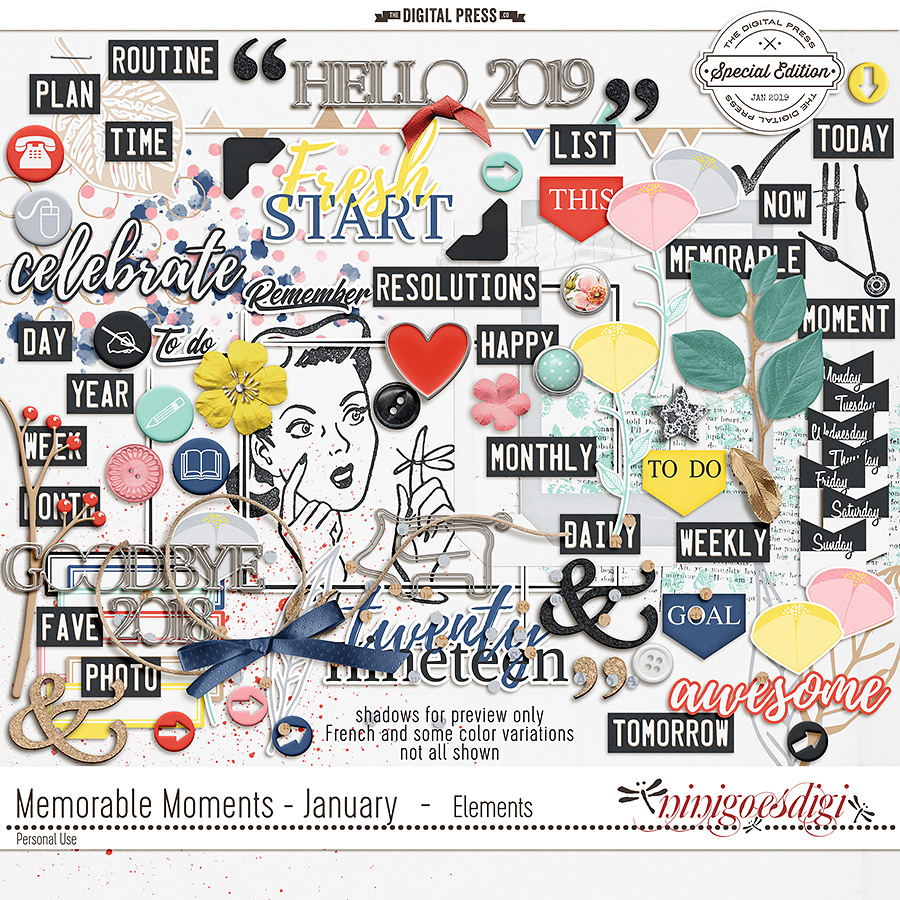 Memorable Moments - January | Elements