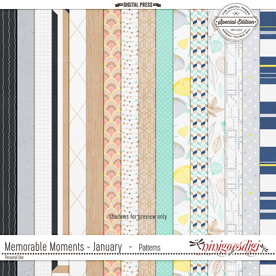 Memorable Moments - January | Patterns