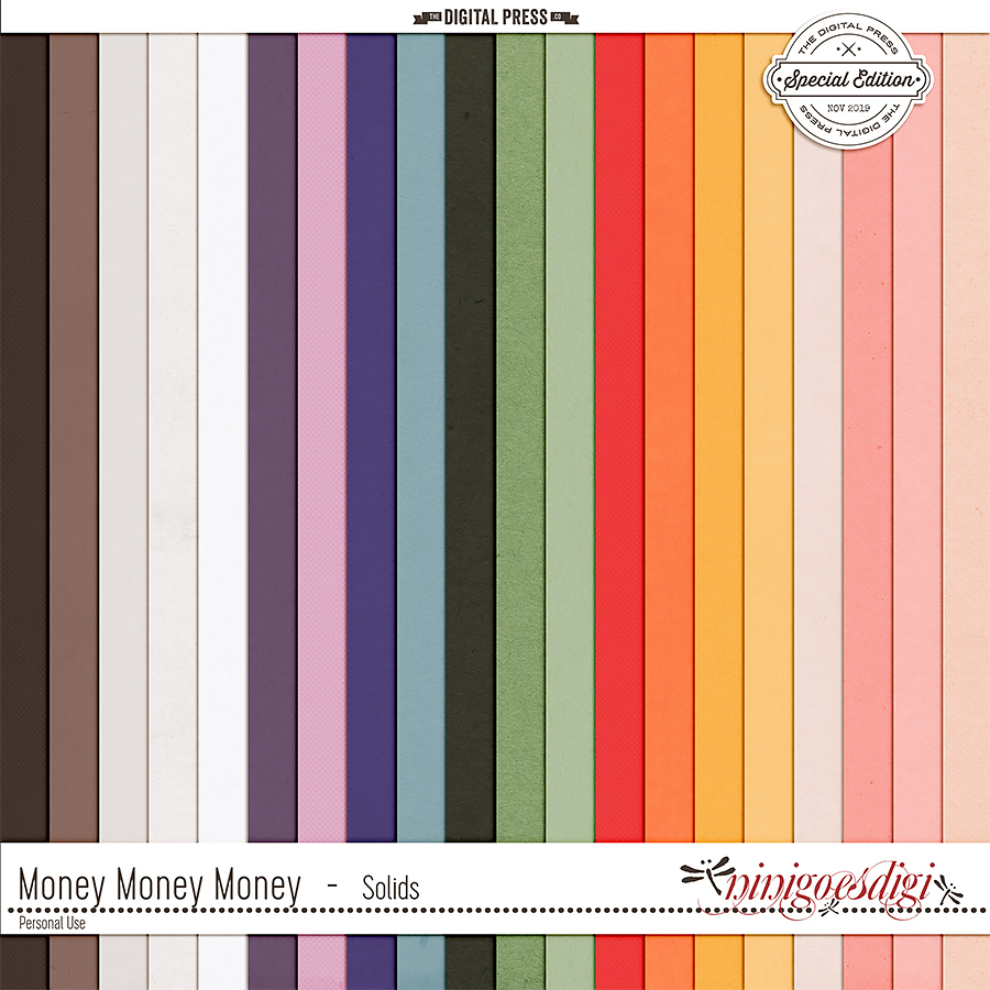 Money Money Money | Solids
