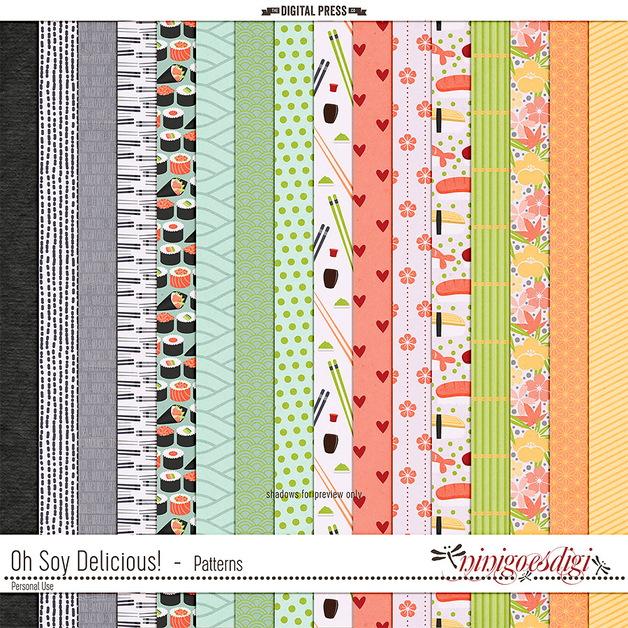 Oh Soy Delicious! | Patterns
