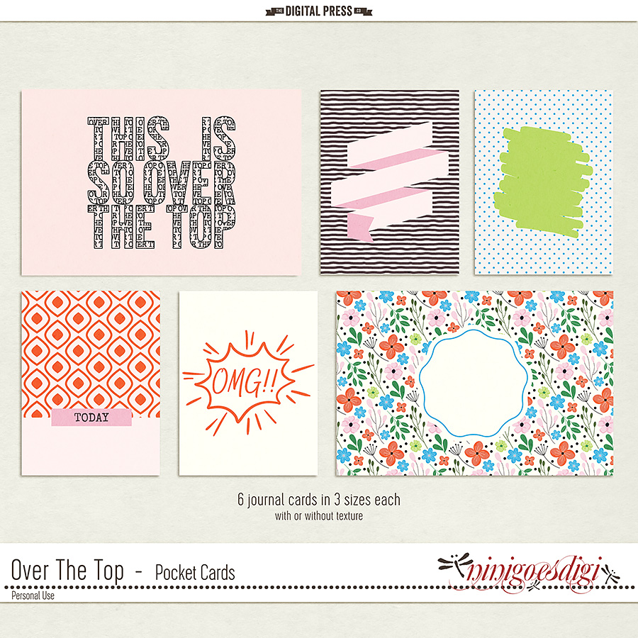 Over The Top | Pocket Cards