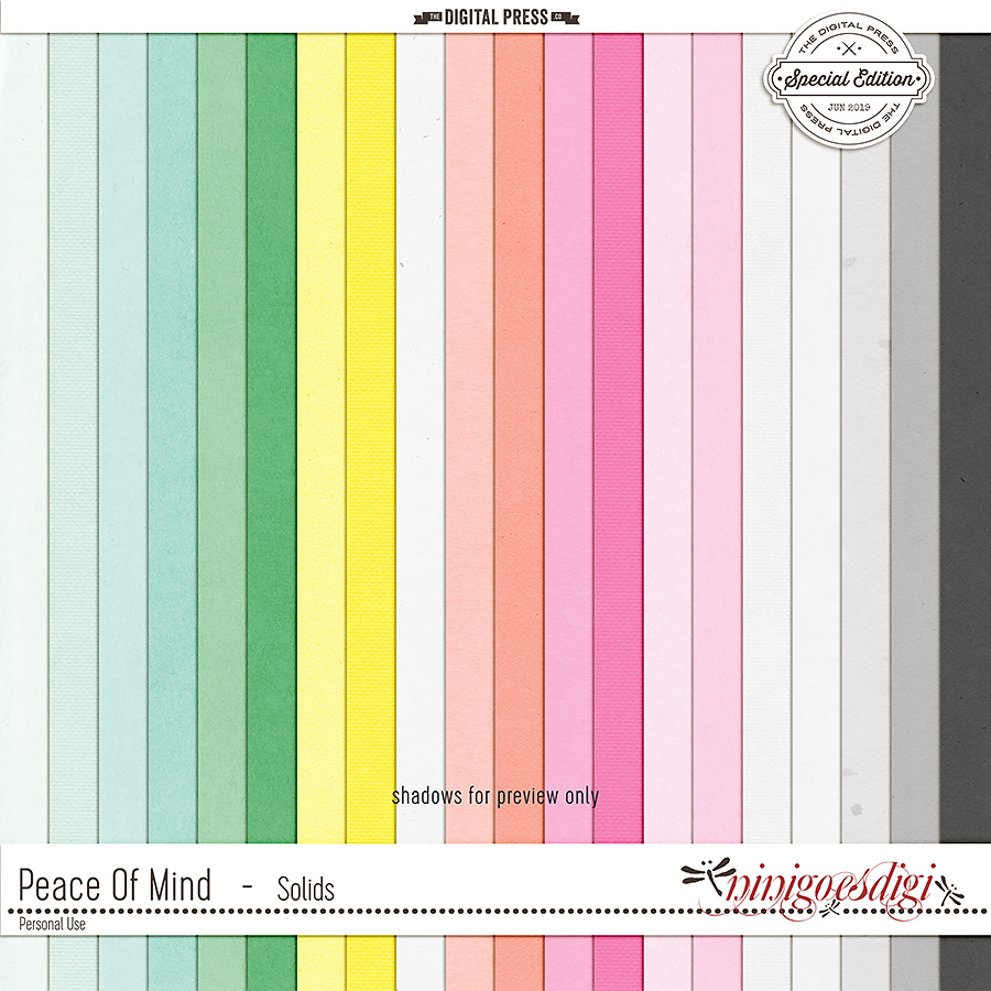 Peace Of Mind | Solids