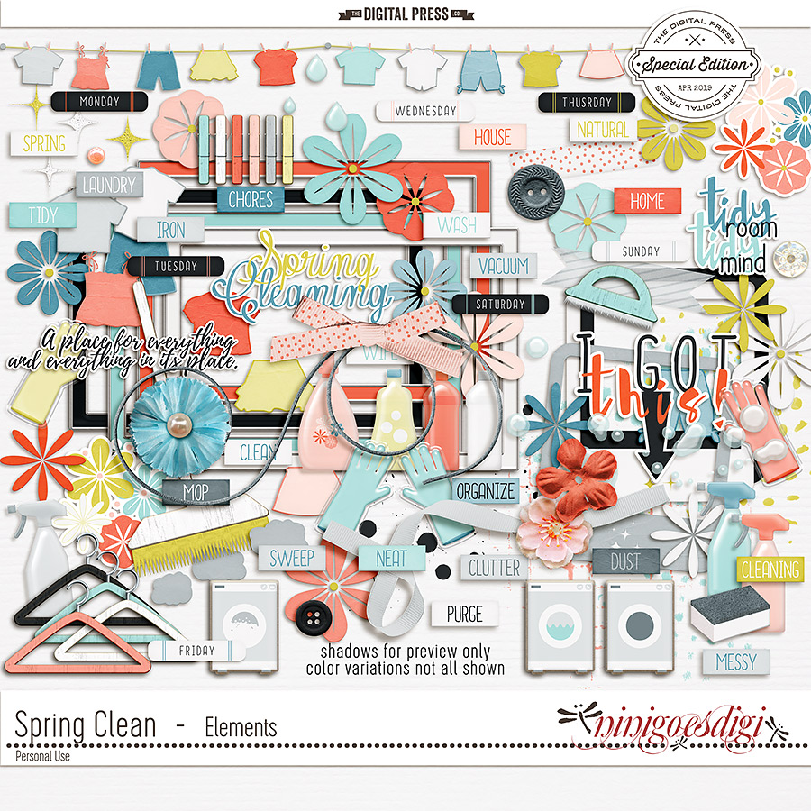 Spring Clean   Elements