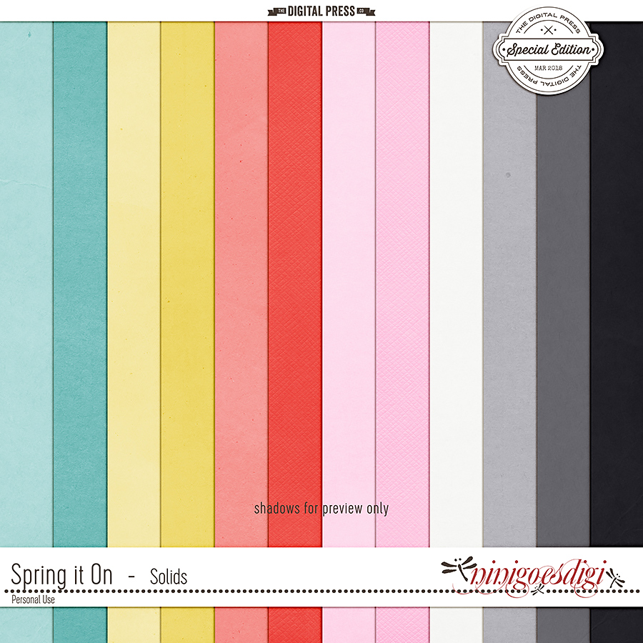 Spring It On   Solids