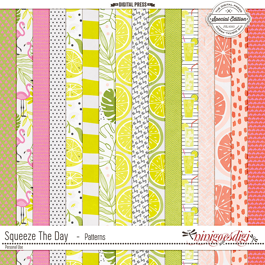 Squeeze The Day | Patterns