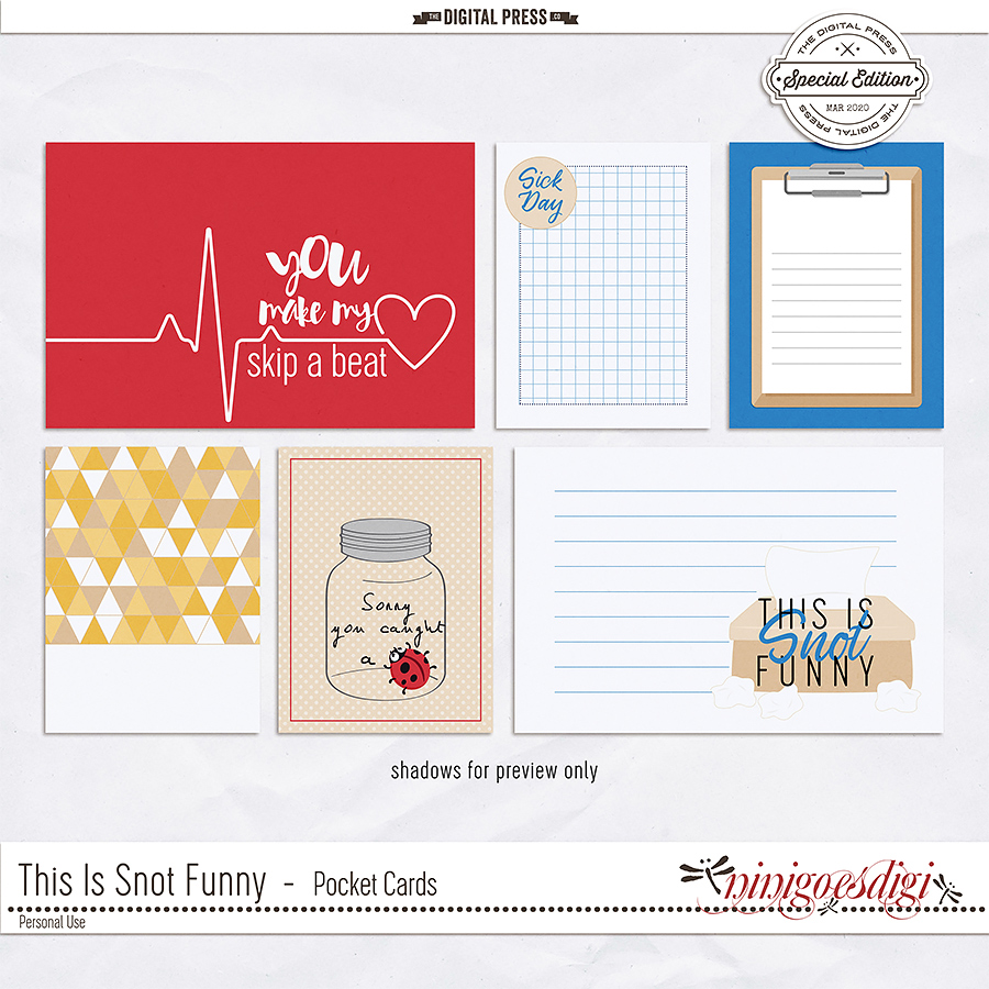 This Is Snot Funny | Pocket Cards