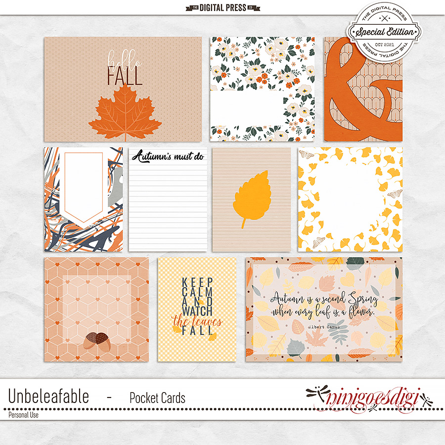 Unbeleafable   Pocket Cards
