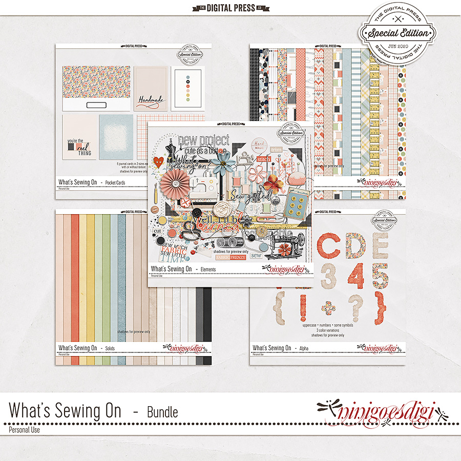 What's Sewing On | Bundle