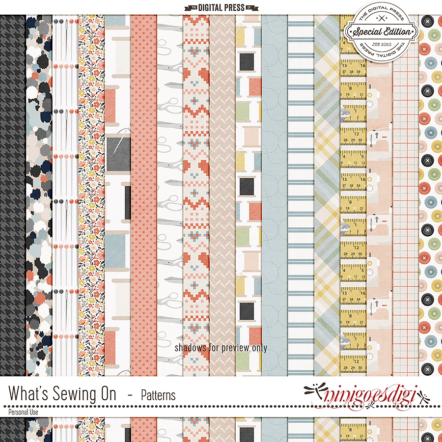 What's Sewing On | Patterns