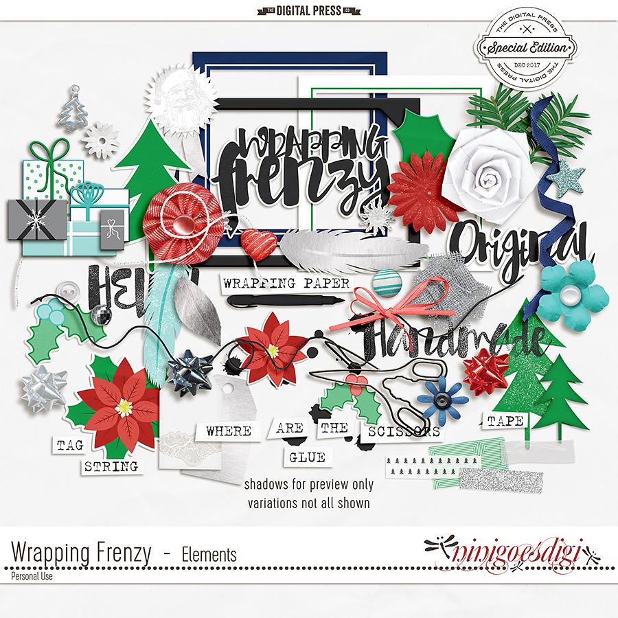 Wrapping Frenzy   Elements