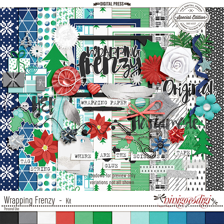 Wrapping Frenzy   Kit