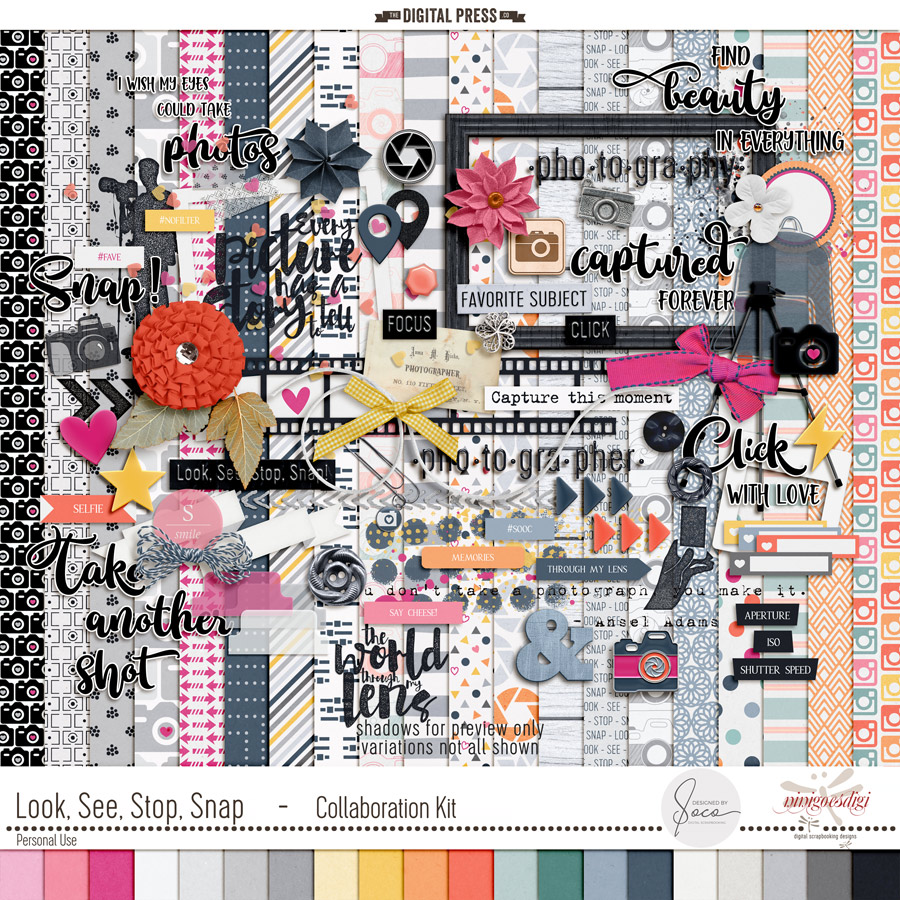 Look, See, Stop, Snap | Collaboration Kit + Alpha