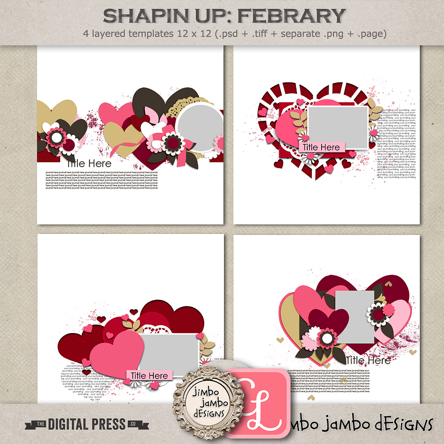 Shapin up: February | Templates