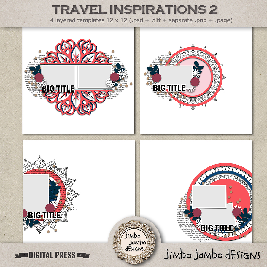 Travel inspirations 2 | Templates