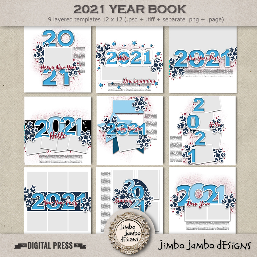 2021 Year Book | Templates