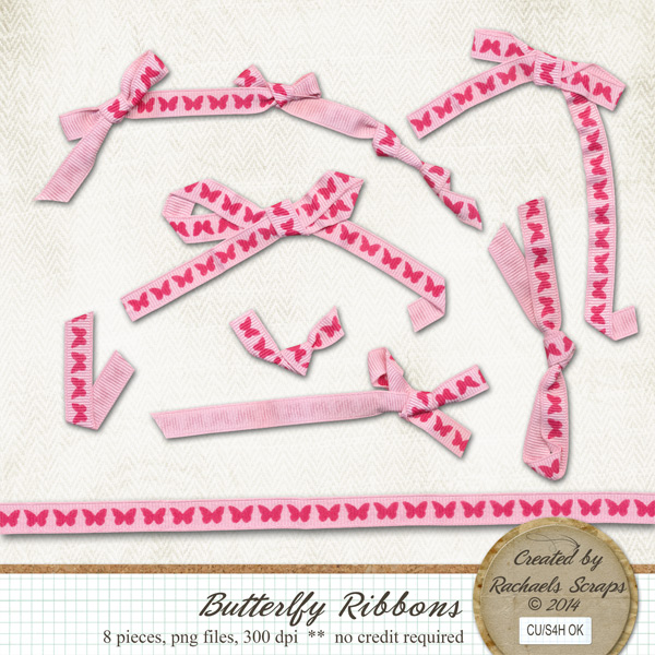 Butterfly Ribbons