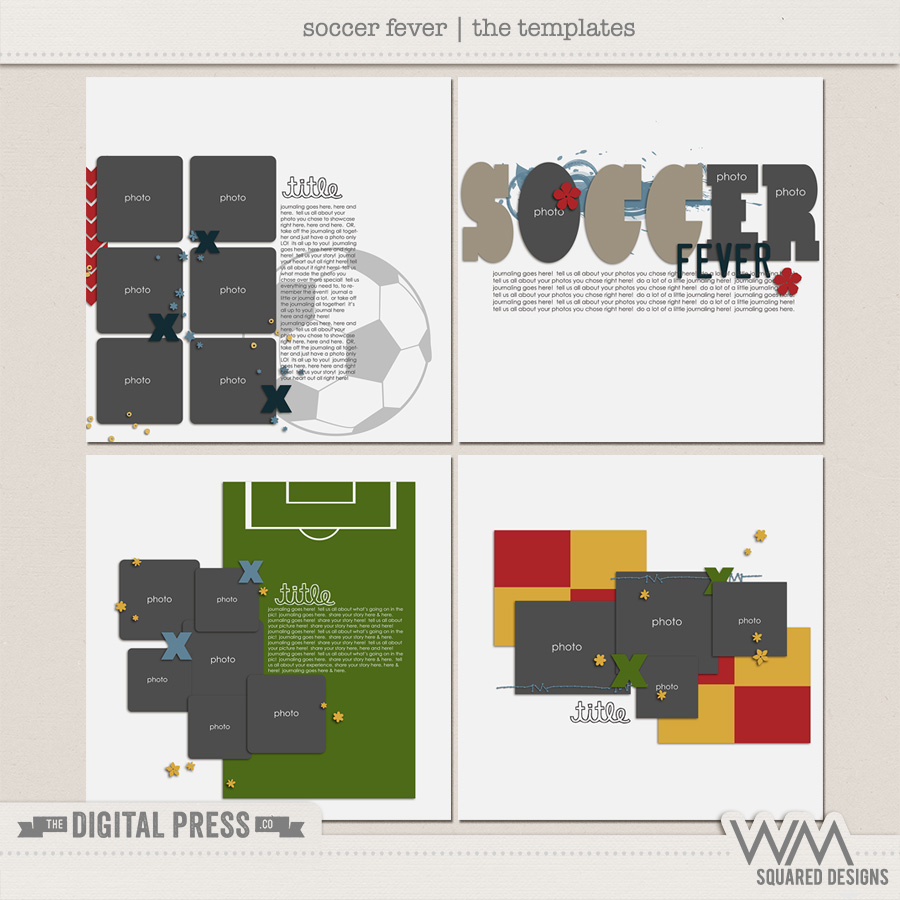 Soccer Fever | The Templates