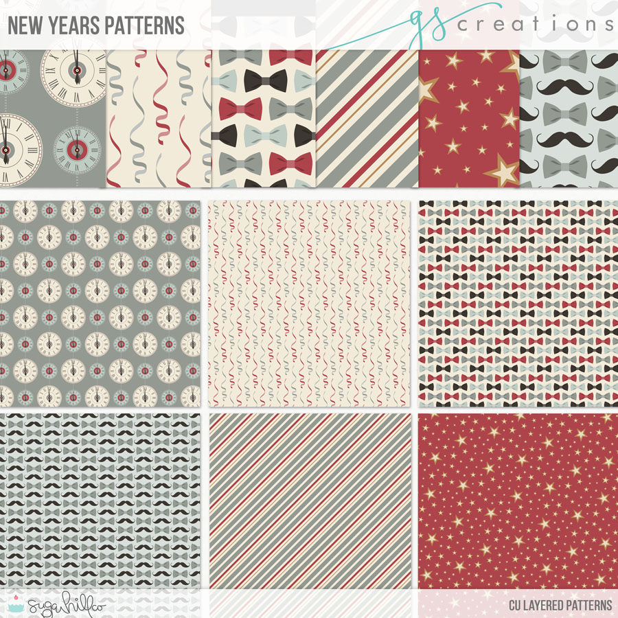 New Years Patterns (CU)