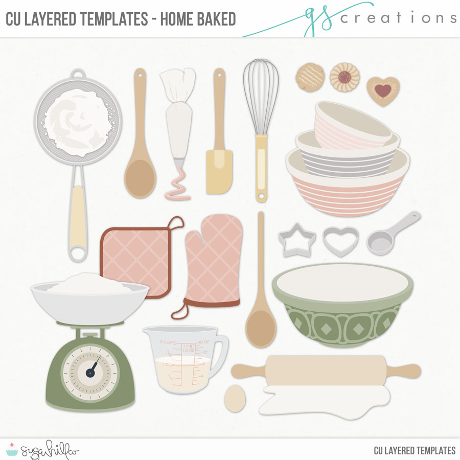 Home Baked Layered Templates (CU)