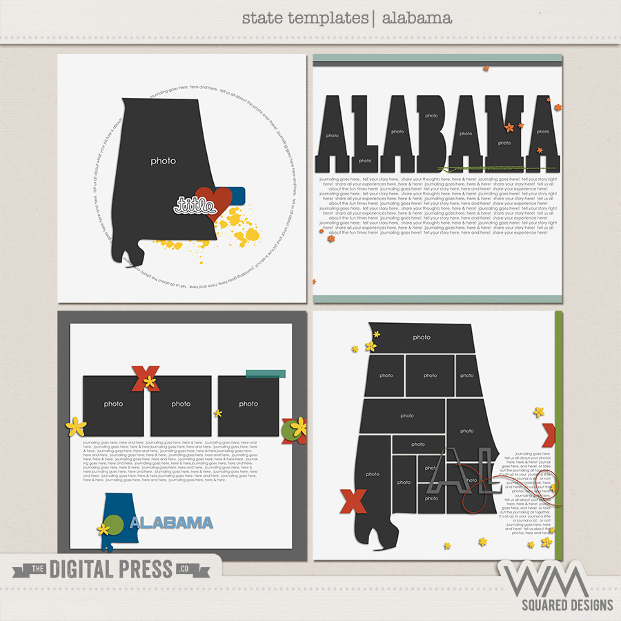 State Templates:  Alabama