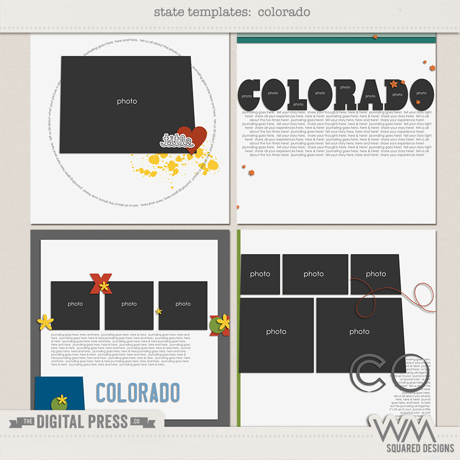 State Templates:  Colorado