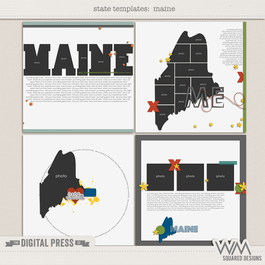 State Templates:  Maine