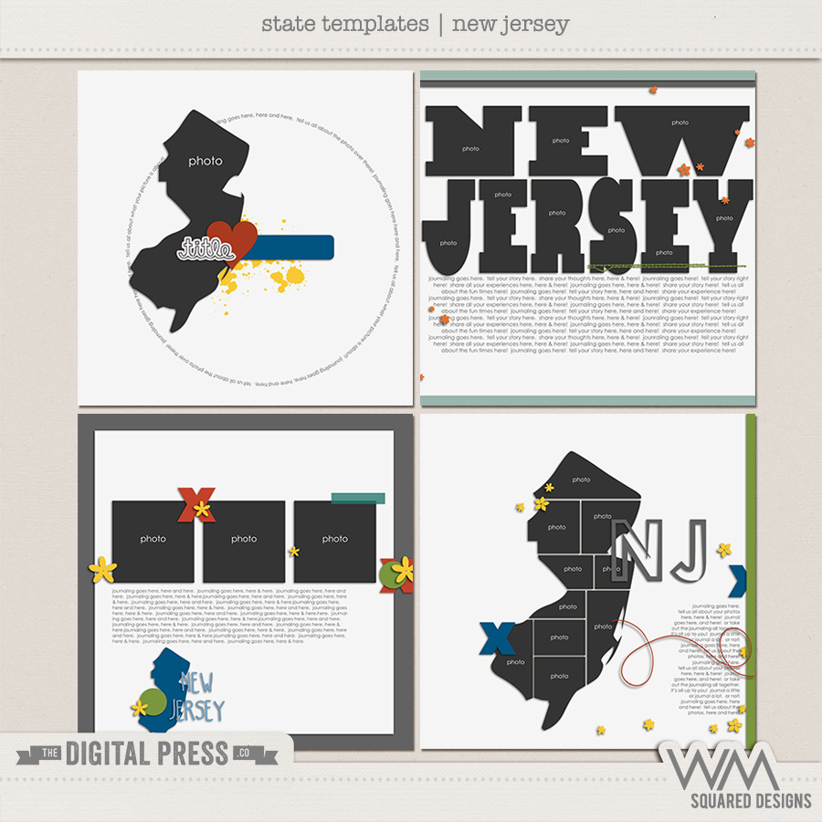 State Templates:  New Jersey