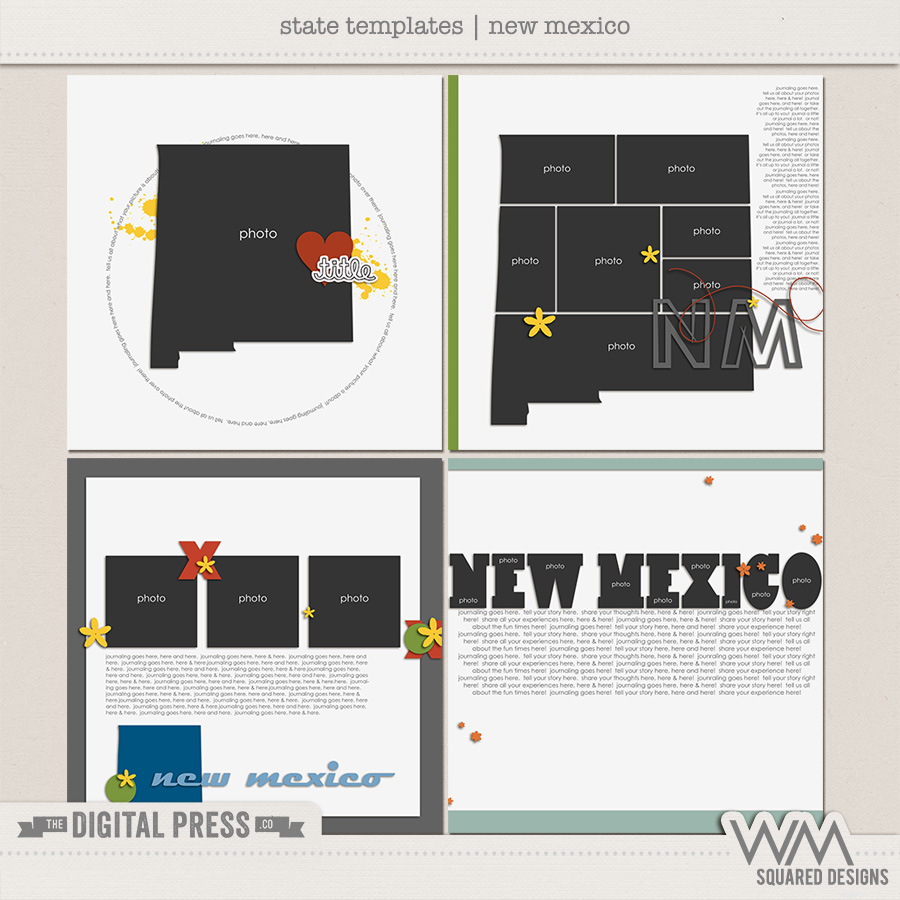 State Templates:  New Mexico