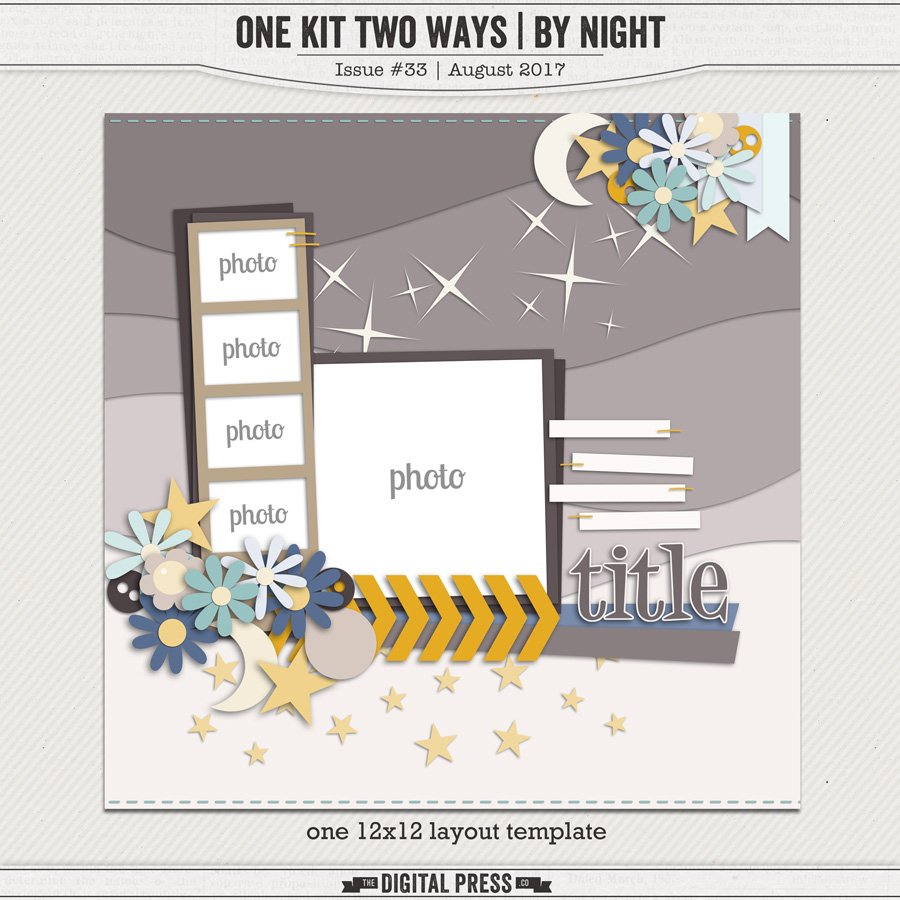 One Kit Two Ways | By Night Tempate & Cut Files