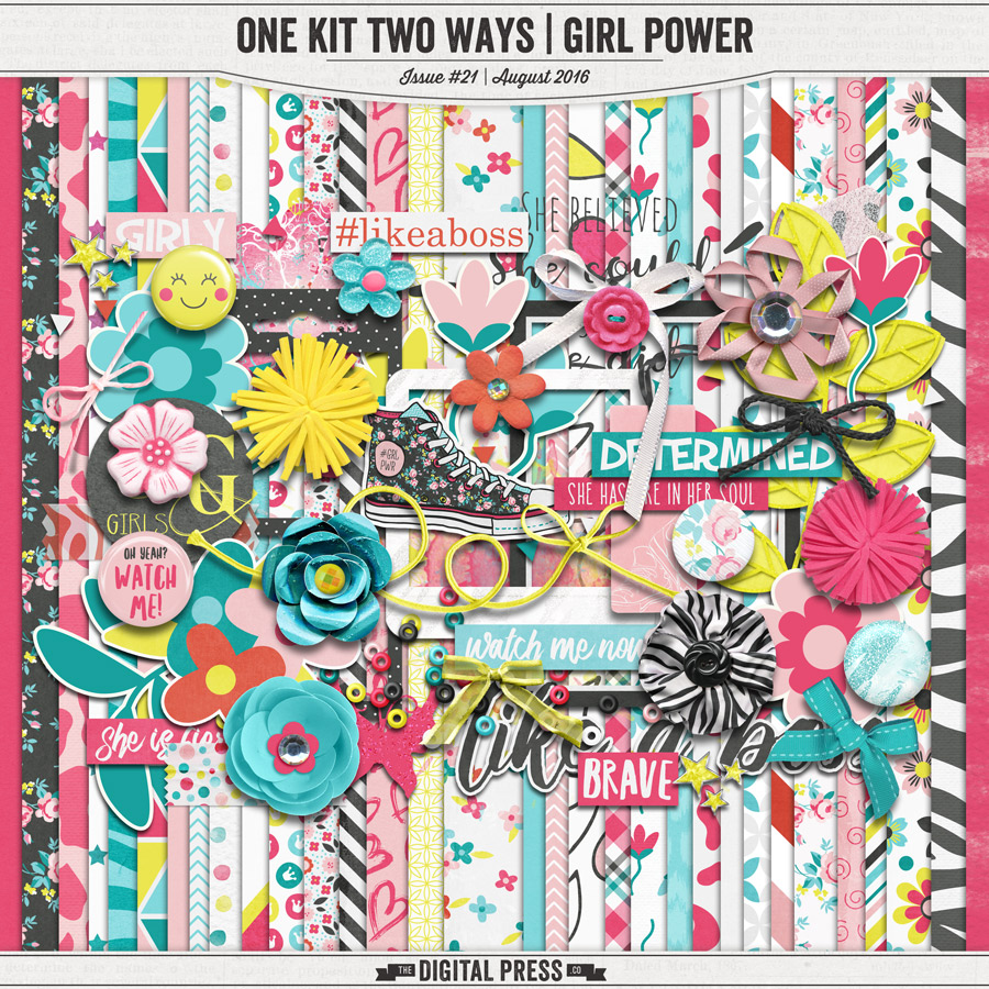 One Kit Two Ways | Girl Power