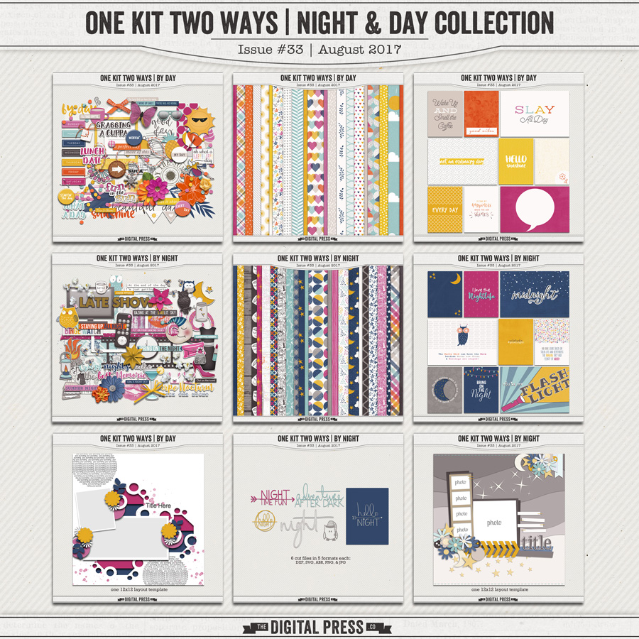 One Kit Two Ways | Night & Day Collection