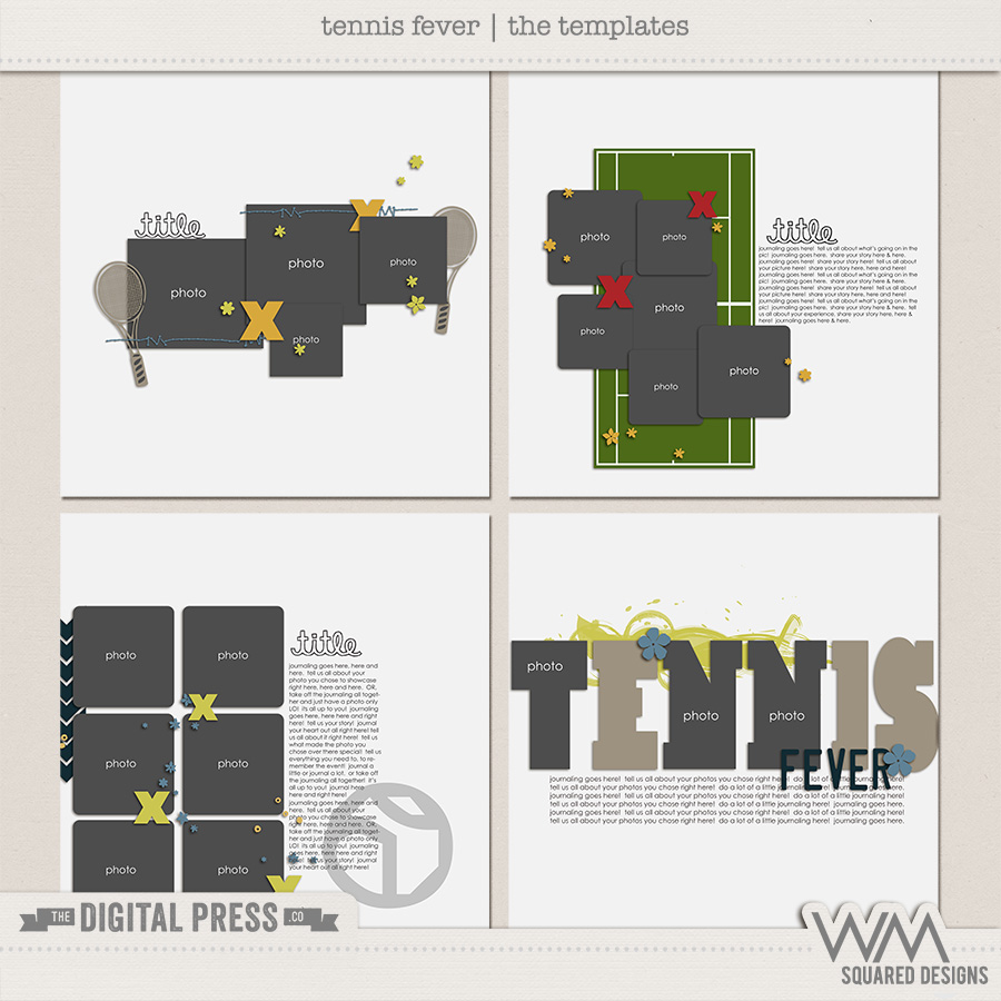 Tennis Fever | The Templates