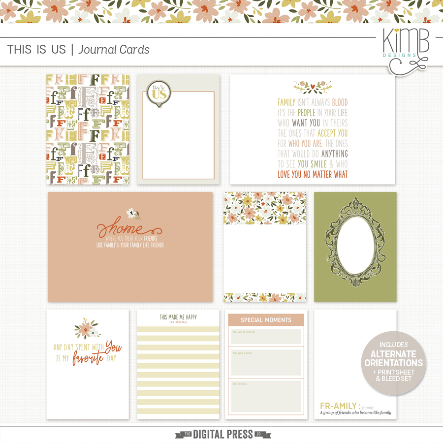 This Is Us   Journal Cards