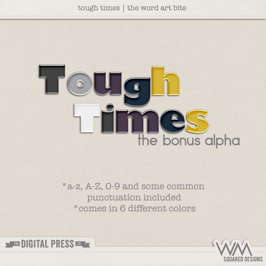 Tough Times | The Bonus Alpha