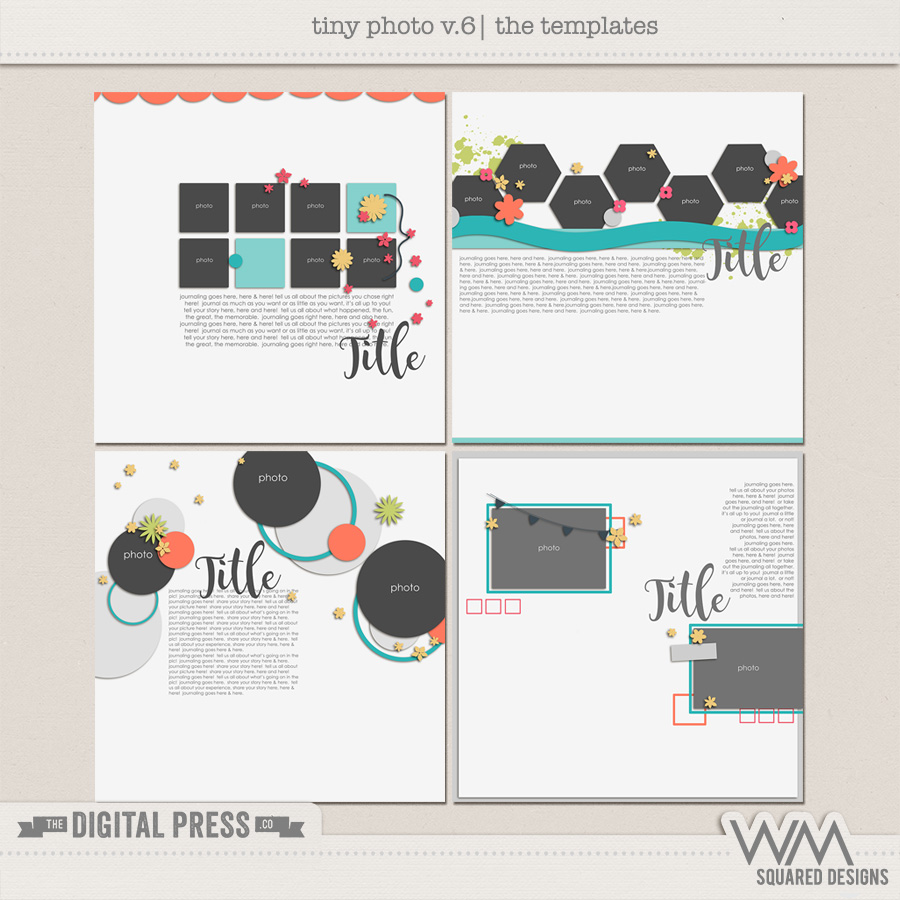 Tiny Photo Templates | V.6