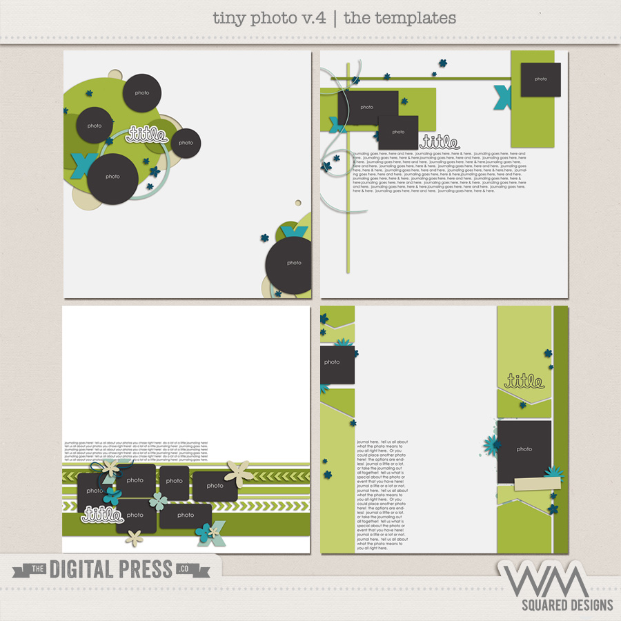 Tiny Photo Templates | V.4