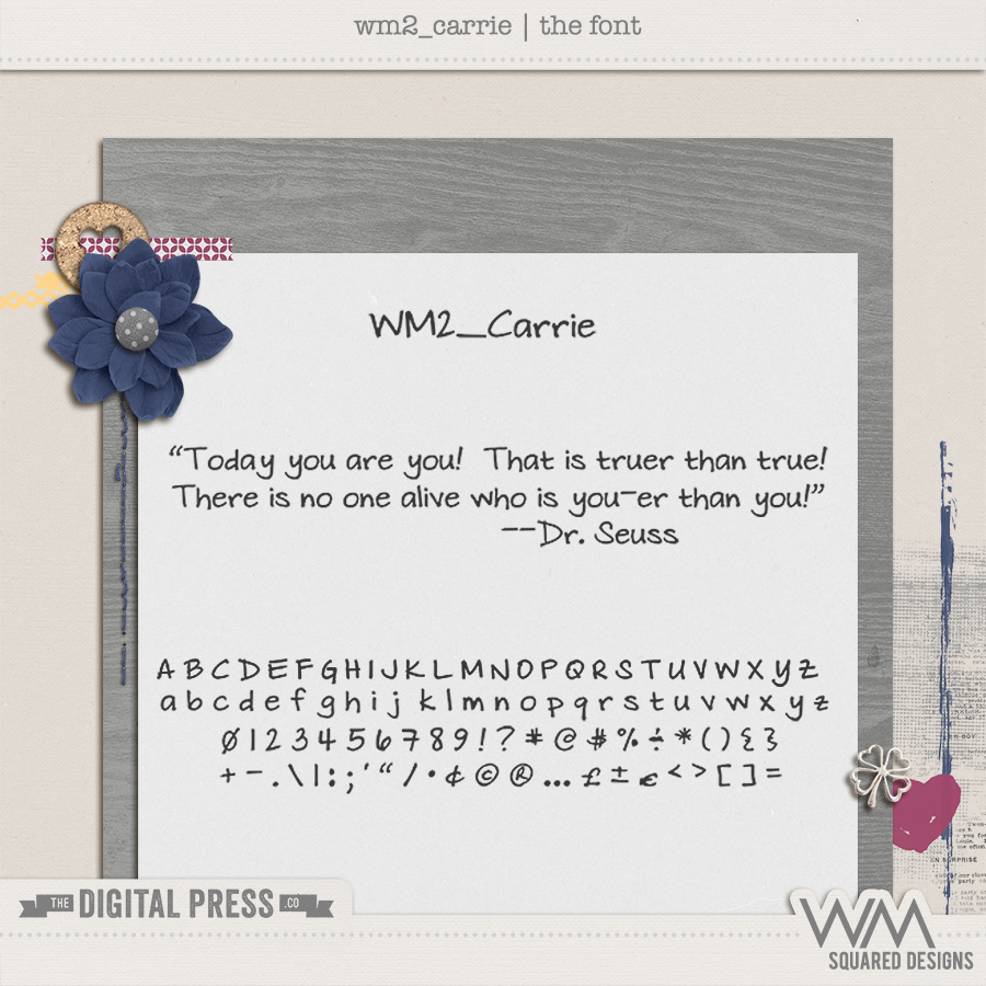 wm2_Carrie | The Font