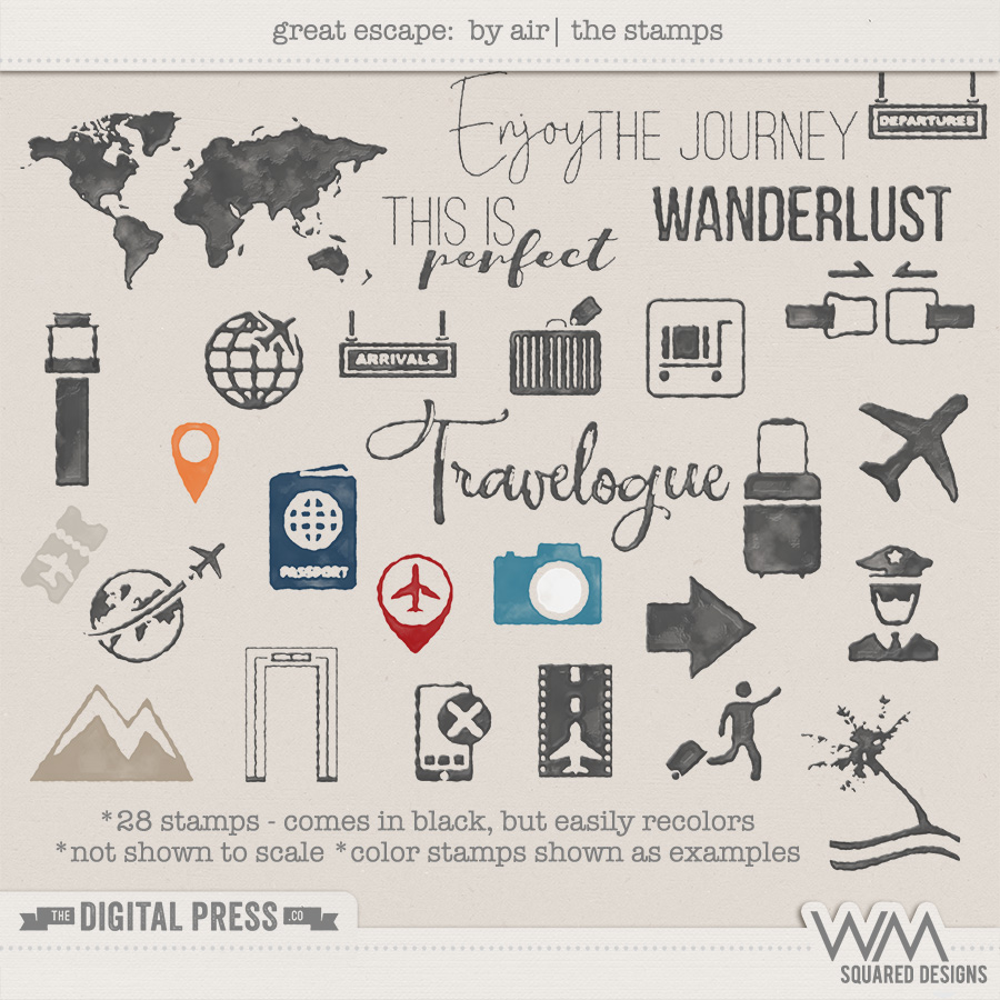 Great Escape:  By Air | The Stamps
