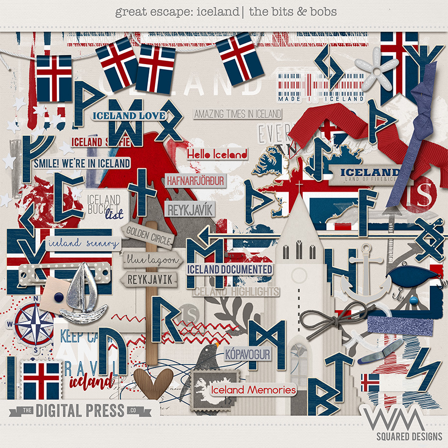 Great Escape:  Iceland   Bits & Bobs