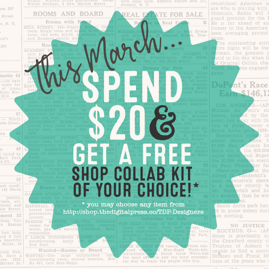 SPEND $20 GET FREE SHOP COLLAB