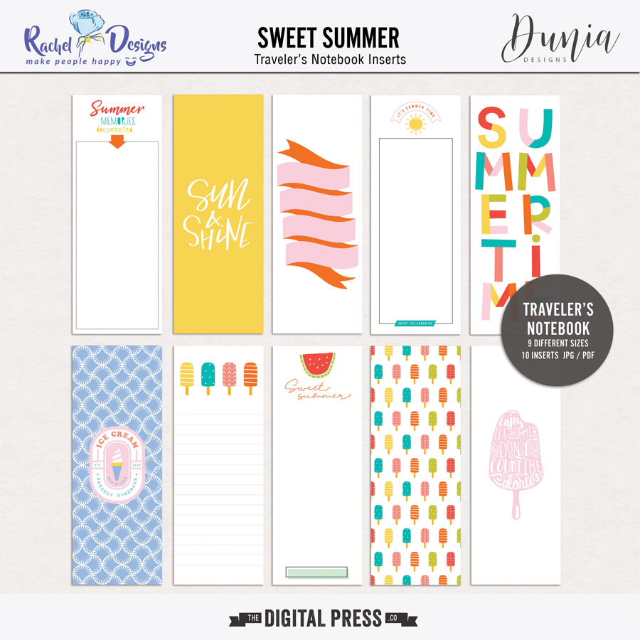 Sweet Summer Collab | Traveler's Notebook