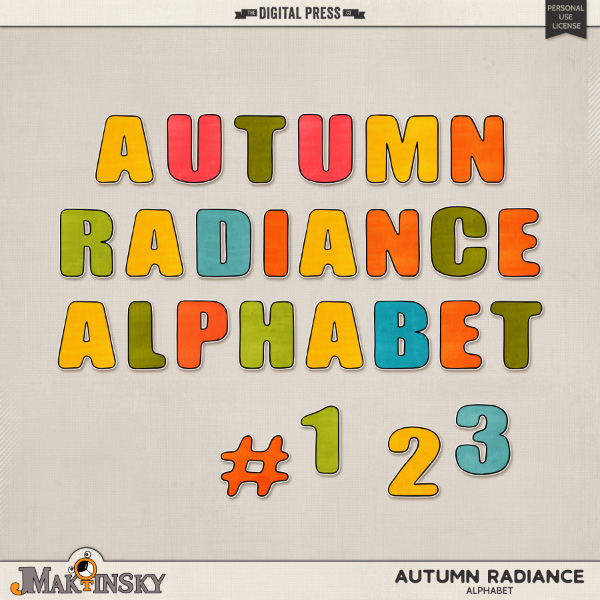 Autumn Radiance | Alphabet