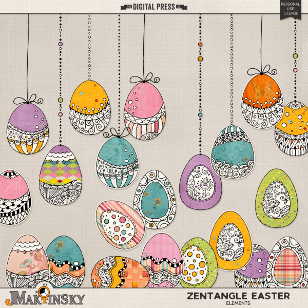 Zentangle Easter