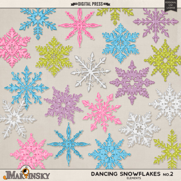 Dancing Snowflakes no.2