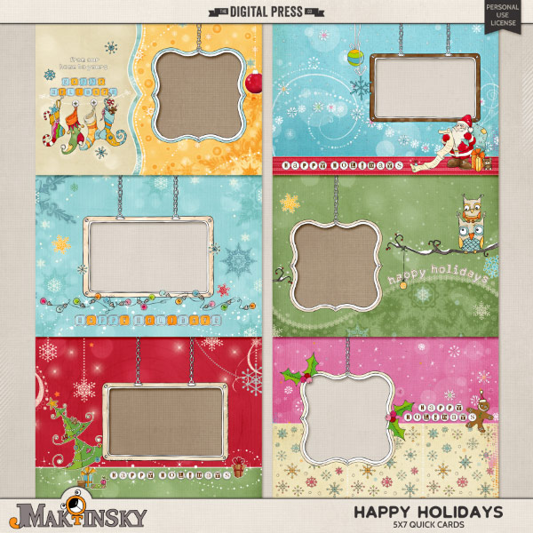 Happy Holidays | Quick Cards