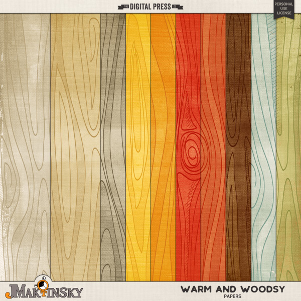 Warm and Woodsy | Papers