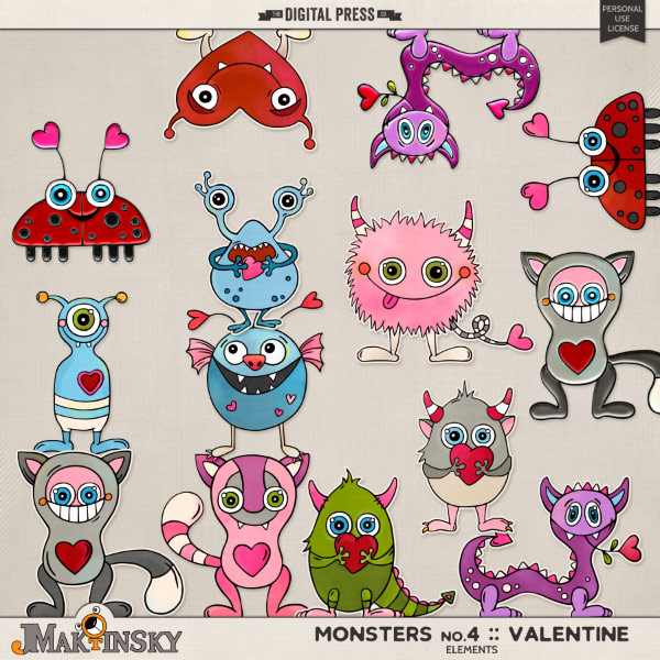 Monsters no.4 | Valentine